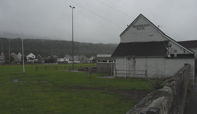 Glynneath R.F.C. Clubhouse and ground