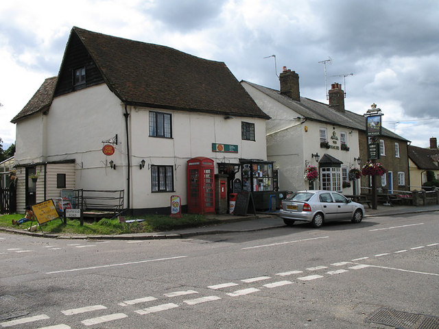 Datchworth green post office martin addison geograph britain and ireland - Great britain post office ...