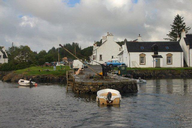Isleornsay jetty, Skye