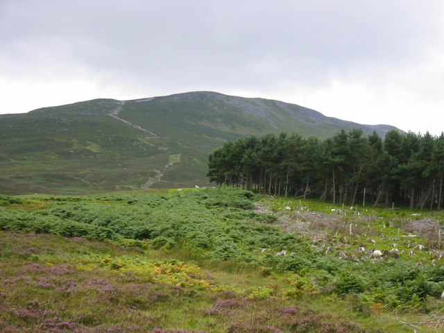 North East Ridge of Schiehallion