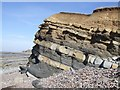 ST1444 : Kilve Beach Rock Formation by Rob Farrow