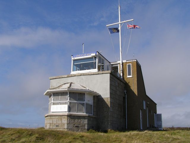 Coastwatch lookout station at Gwennap Head