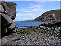 SW3835 : Rocky beach at Pendeen Cove by Jim Champion