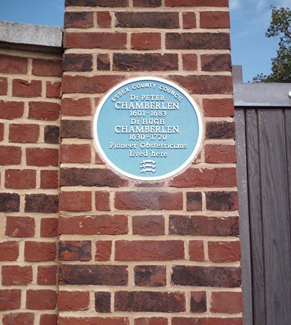 Blue plaque, Woodham Mortimer Hall