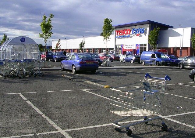 Tesco Extra, Coatbridge