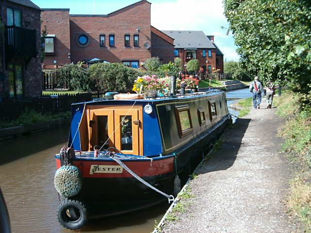 Trent and Mersey Canal at Rugeley