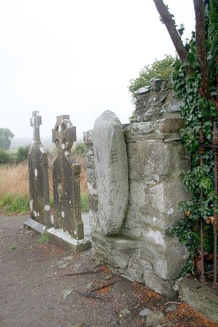 Ogham stone, Castlekeeran Church