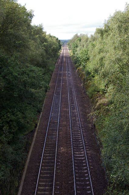 Barnetby - Scunthorpe Railway Line