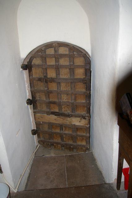 Ancient Pele Tower Doorway