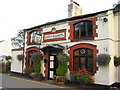 SJ4444 : Queens Head Hotel, Sarn Bridge by Peter Craine