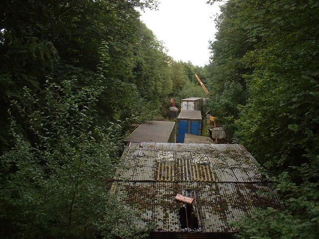 Pontybodkin disused station