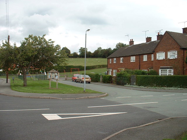 Pontybodkin houses and Playing Field