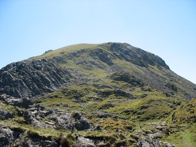 The Northern Crags of Moel Lefn