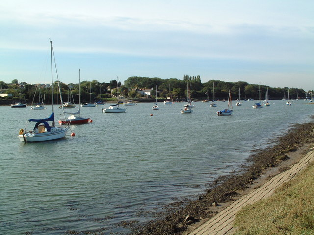 Looking Upstream from South Woodham Ferrers