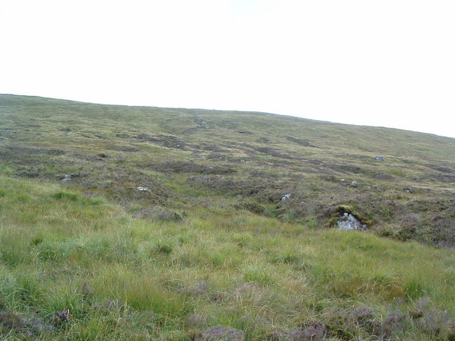 On the Flanks of Beinn a'Chaorainn