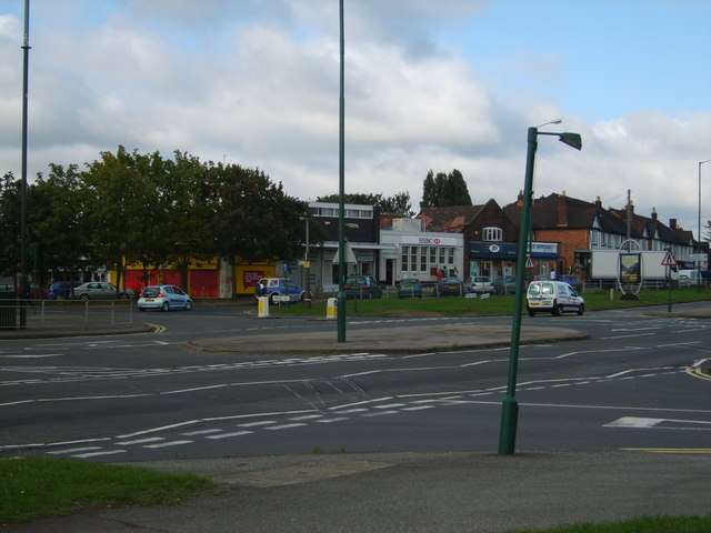 Local shops on the Chester Road