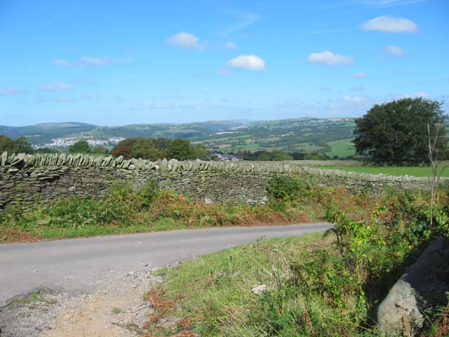 Country Road near Ystrad Mynach