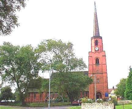 Woodlands, All saints Church.