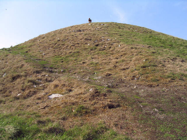 The 'Cairn' at Gop Hill