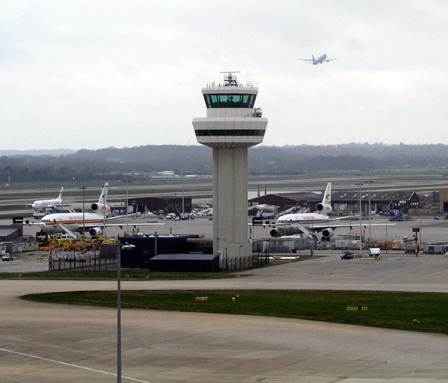 Gatwick Air Traffic Control tower