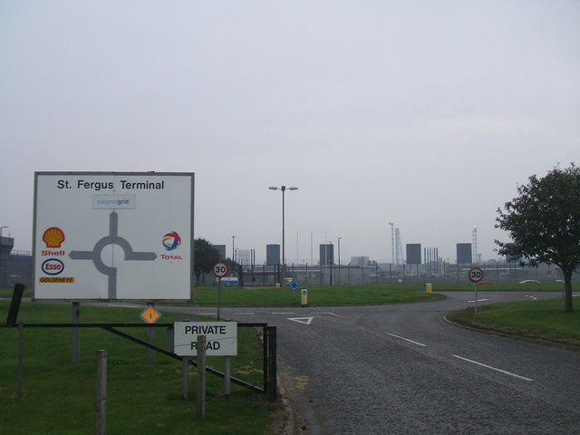 St Fergus Gas Terminal - South
