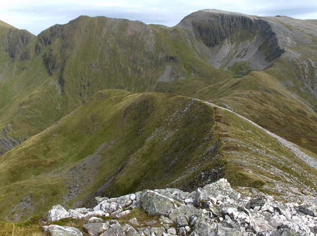 East ridge, Stob Ban, Mamores