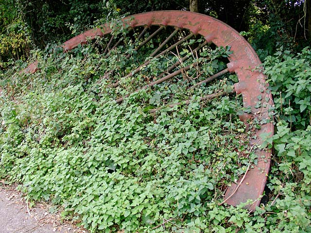 Winding Wheel from Brandy Bottom Colliery