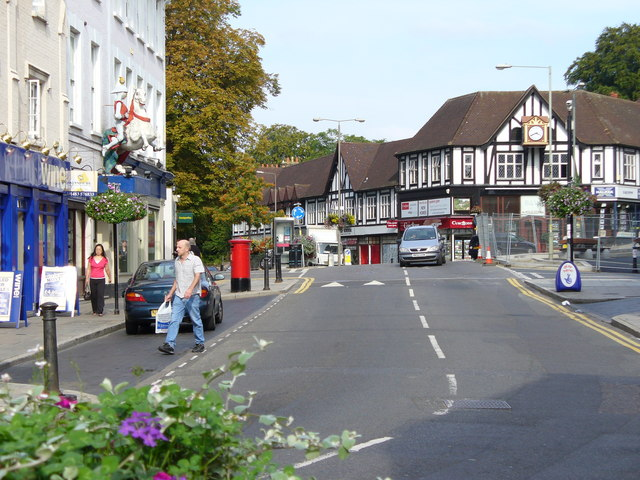 Upper High Street, Guildford © Colin Smith cc-by-sa/2.0 ...
