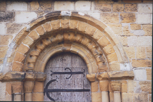 Norman Church Door St Oswald S Sowerby 169 Stephen Craven