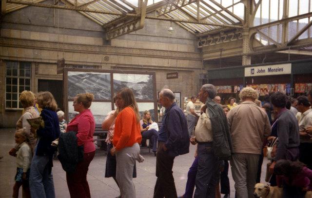 Aberystwyth Station Concourse