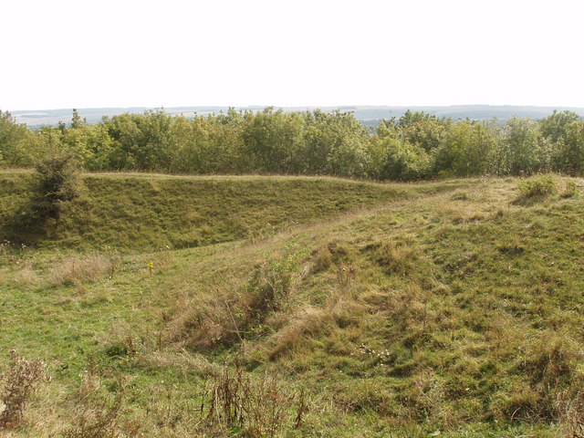 Round barrow, Battlesbury Hill, Warminster