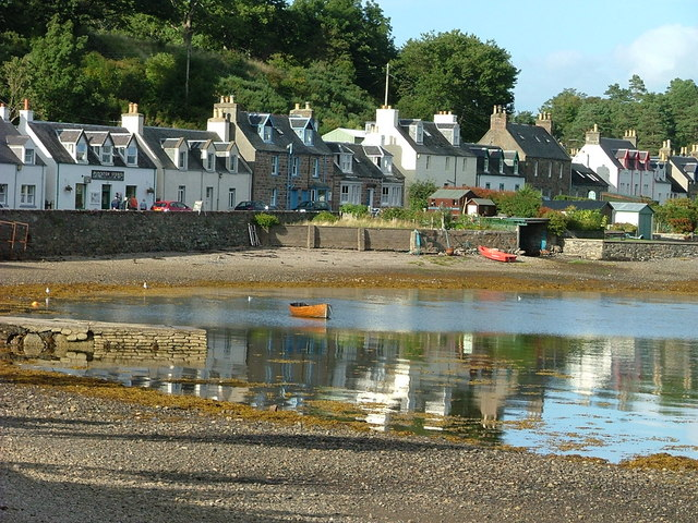 Shoreside Houses Plockton
