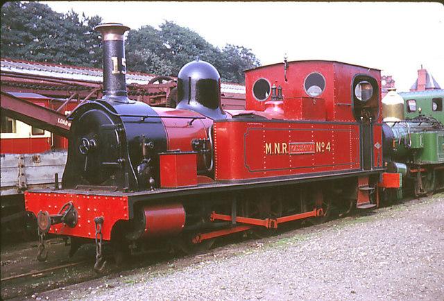 IoM Railway 0-6-0T # 15 Caledonia at Douglas