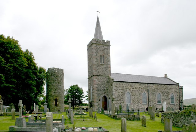 Armoy Church of Ireland and Round Tower