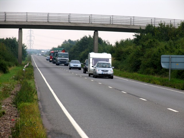 A17 looking Eastwards