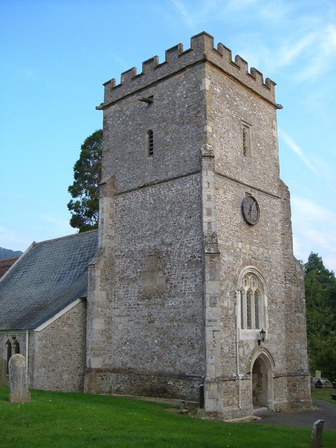 St Michael's church, Musbury