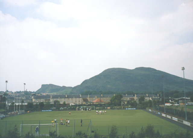 Football / hockey ground, near Craigmillar