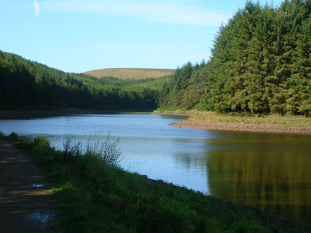 Entwistle Reservoir.