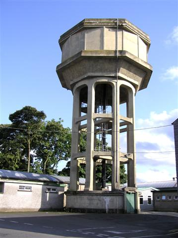 Water Tower, T and F grounds