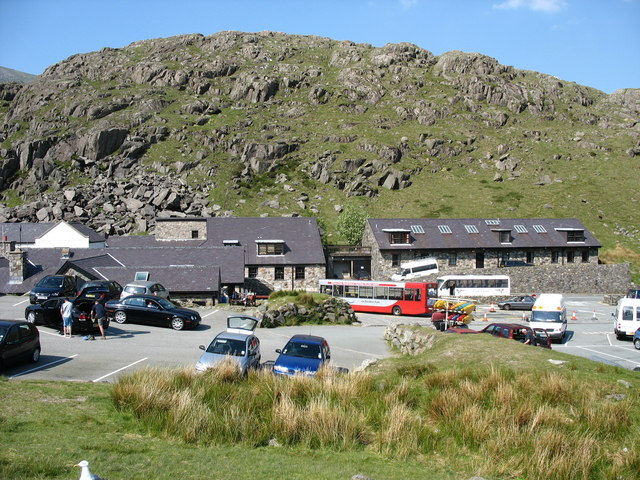 Pen-y-pass on a Sunny Day