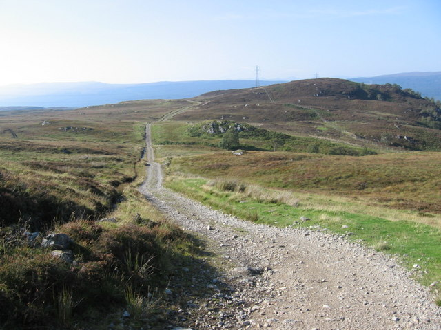 General Wade's Military Road towards Creag Dubh