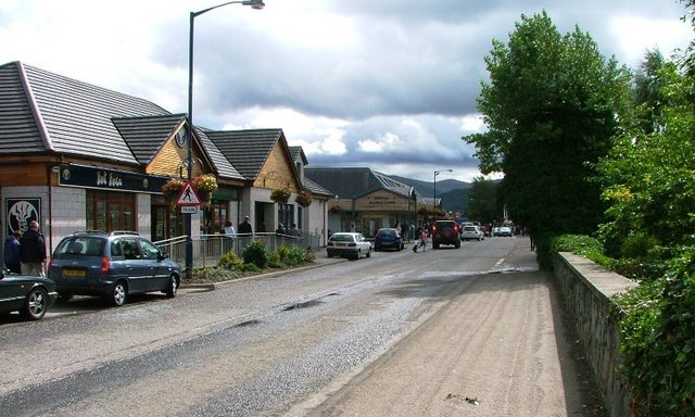 Grampian Road, Aviemore Town Centre