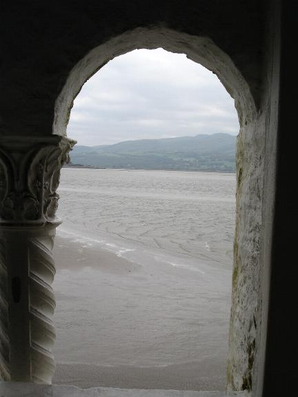 Out to sea from Portmeirion