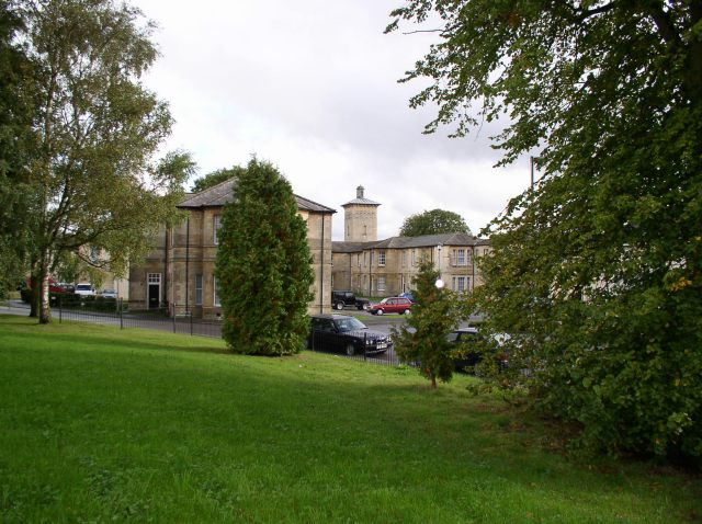 The former Roundway Hospital