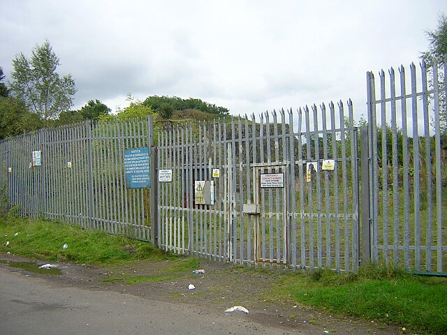 Pilmuir Quarry Entrance