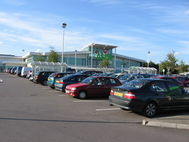 ASDA, Longwell Green:: OS grid ST6572 :: Geograph Britain and ...