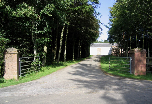 The entrance to Rawflat Farm