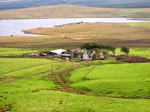 greenfield farm from ballageich hill iain thompson