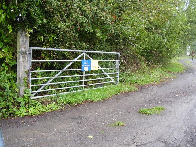Entrance To Durham City Angling Club C P Glenwright Cc By Sa 2 0