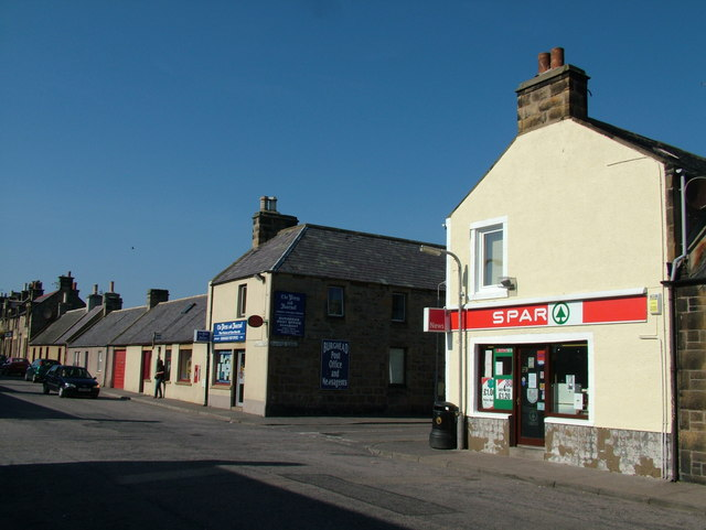 Post Office and Shop in Burghead